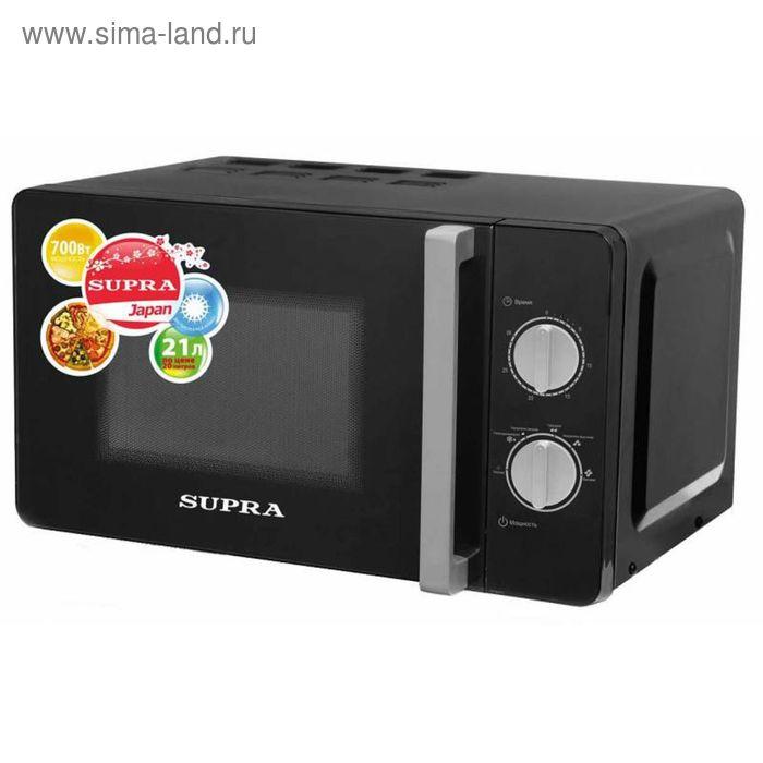 Микроволновая печь Supra MWS-2103MB, 21 л, 700 Вт, черный
