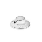 Штангодержатель, d=16 мм, круглый, стальной, цвет хром