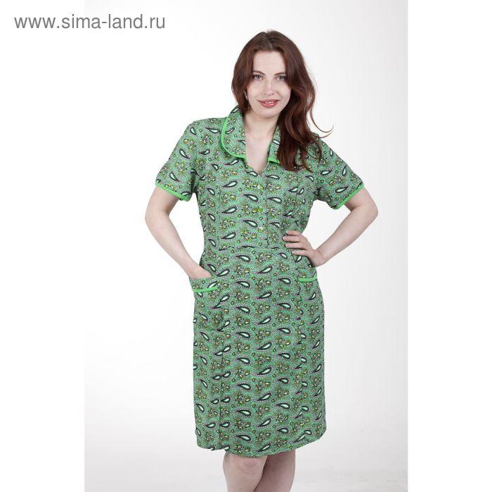 Платье женское домашнее 4007, МИКС, р-р 58