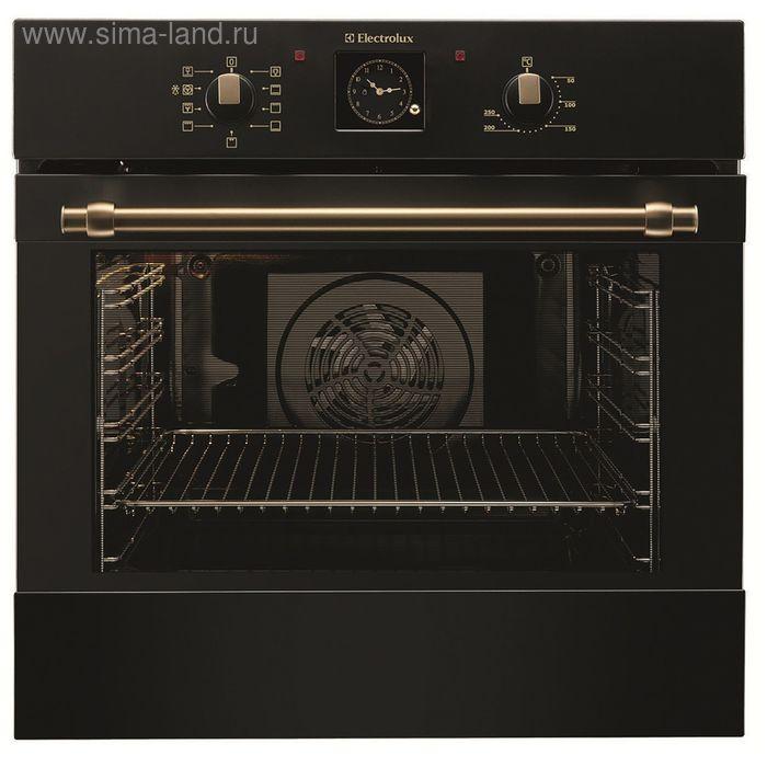Духовой шкаф Electrolux EOB3400BOR, электрический, 74 л, черный