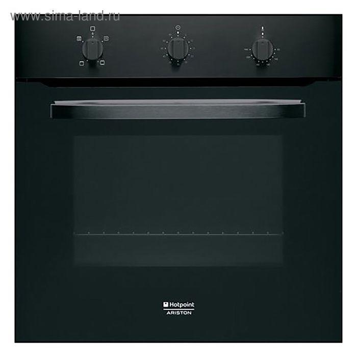 Духовой шкаф Hotpoint-Ariston FH 21 BK, электрический,  58 л,черный