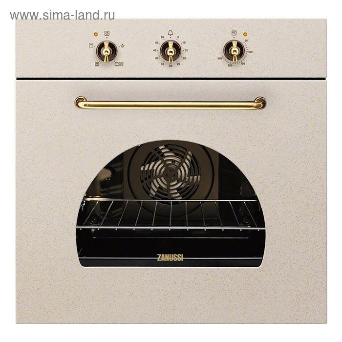 Духовой шкаф Zanussi ZOB21301LR, электрический, 70 л, бежевый