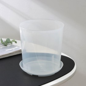 Горшок для орхидей 1,6 л, прозрачный