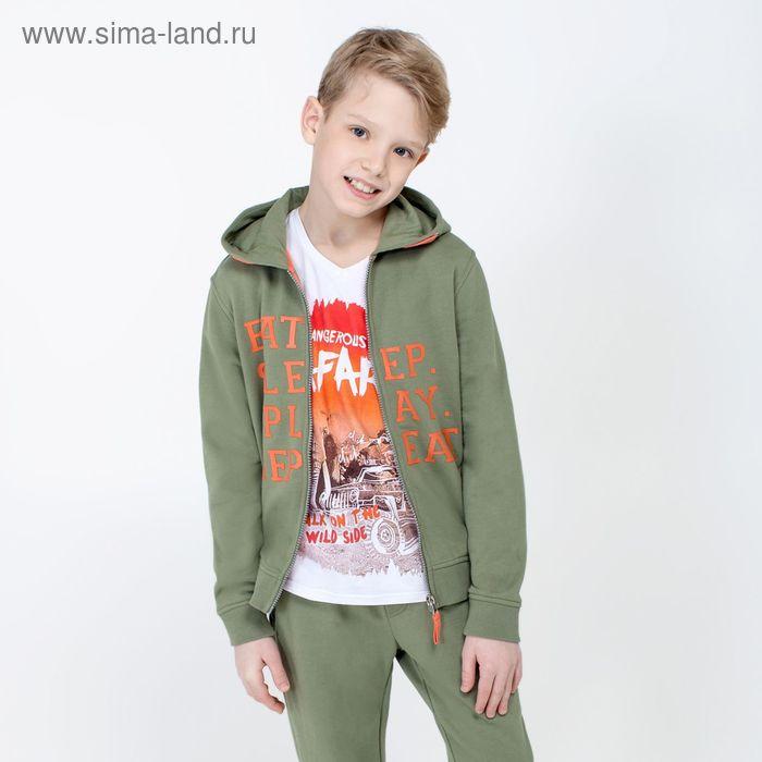 Жакет детский для мальчиков Forest, рост 170 см, цвет светло-зелёный (арт. 20110130026)