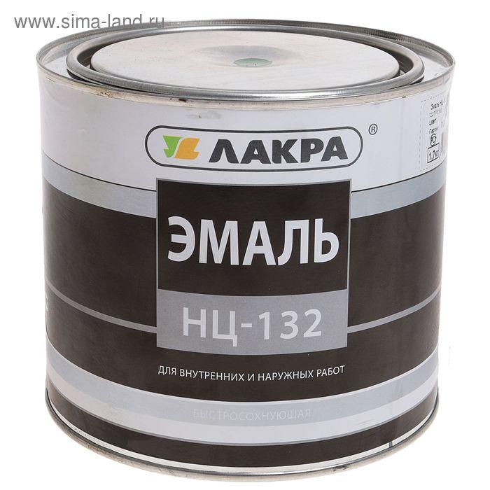 Эмаль НЦ-132  зеленый 1,7 кг