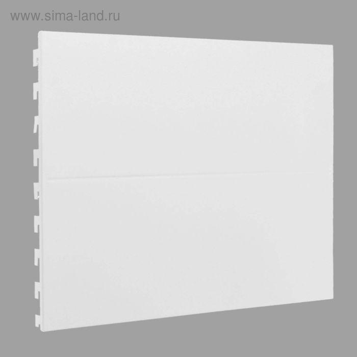 Панель для стеллажа, 45*90 см, цвет белый