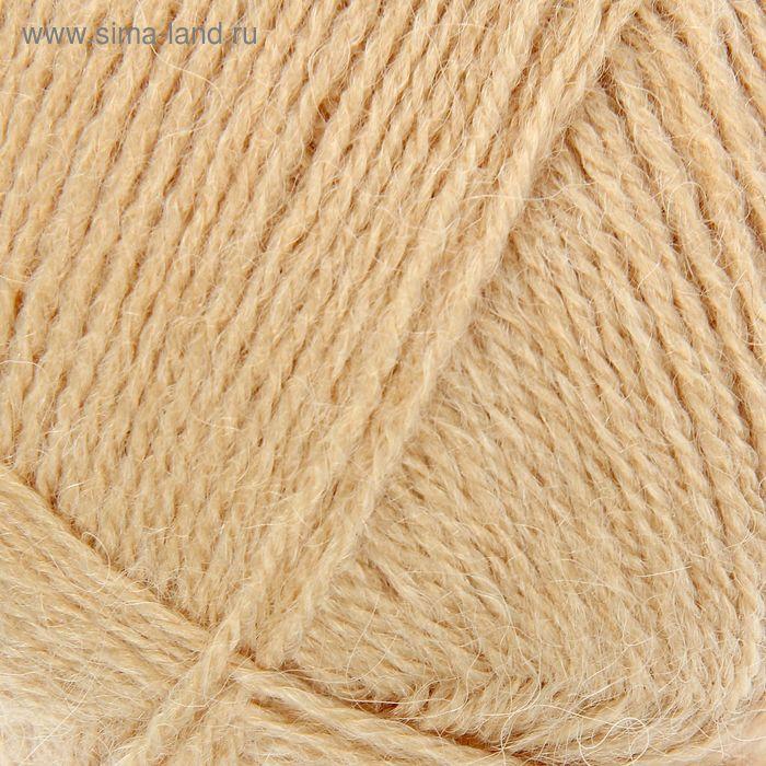 Пряжа Lada (Лада) 15% шерсть, 35% альпака, 50% акрил 380м/100гр (386 св.песок)