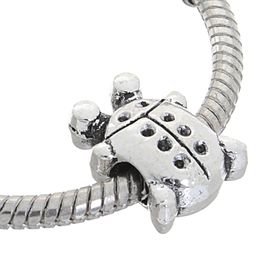 Талисман 'Жук', цвет серебро Ош