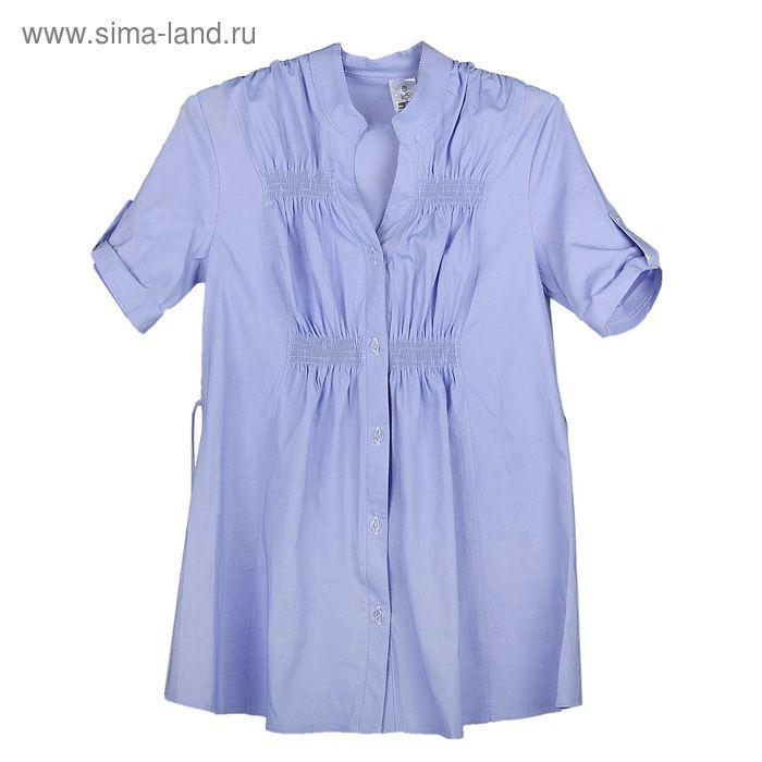Блузка для беременных 2242 С+, размер 52, рост 170, цвет сирень