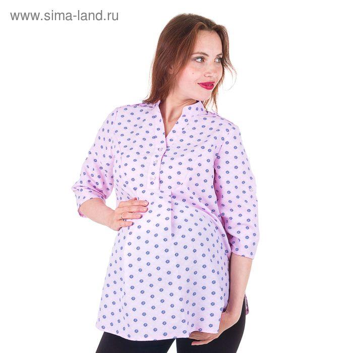 Рубашка женская 15117 С+, размер 50, рост 170, цвет розовый