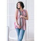 Блузка для беременных 2249, цвет розовый, размер 44, рост 170