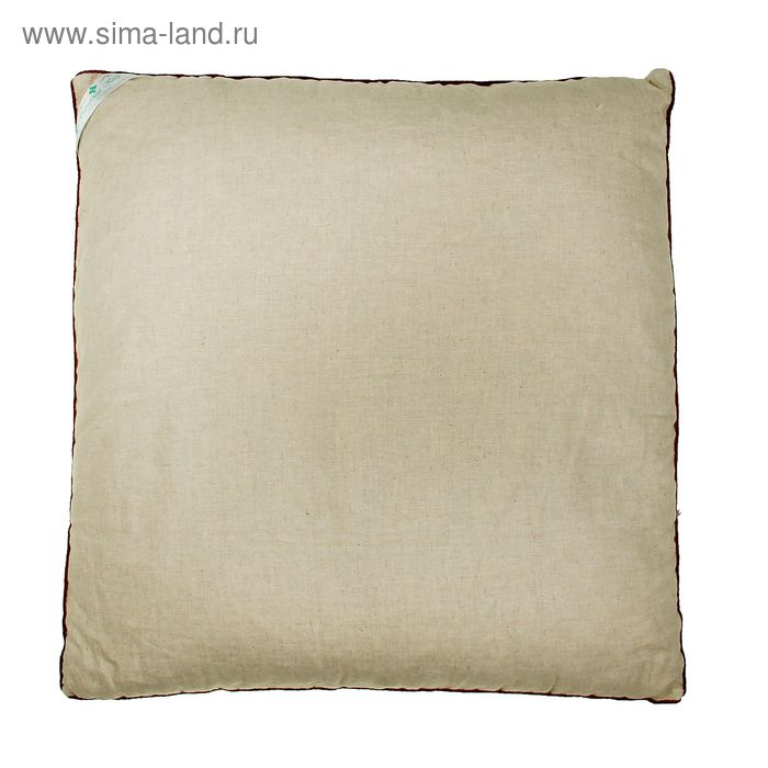 Подушка Кедровый СОН 70*70 см, стружка кедра, чехол лен