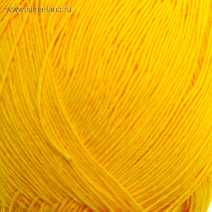 """Пряжа """"Ассоль"""" 100% хлопок, 500м/50гр (1631 желтый)"""