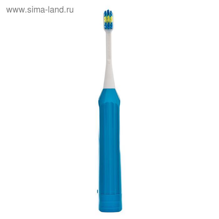 Детская электрическая зубная щетка Hapica, для детей от 3 до 10 лет, синяя