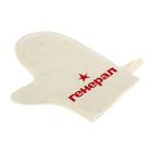 Рукавица для бани и сауны с вышивкой «Генерал», белая