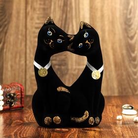 """Копилка """"Чёрные коты"""" флок"""