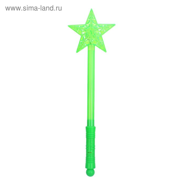 "Световая палочка ""Звёздочка"", цвет зелёный"