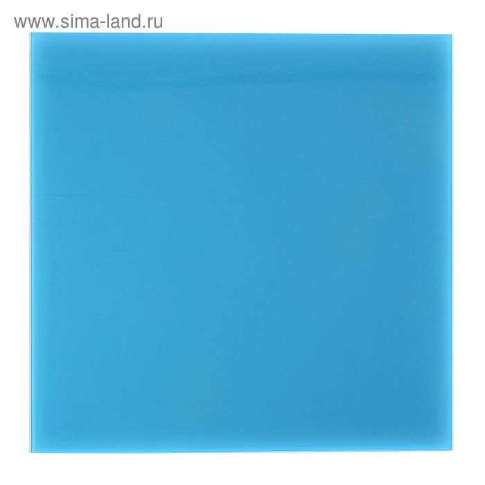 Доска магнитно-маркерная стеклянная 45*45 LUX, тихоокеанский 056