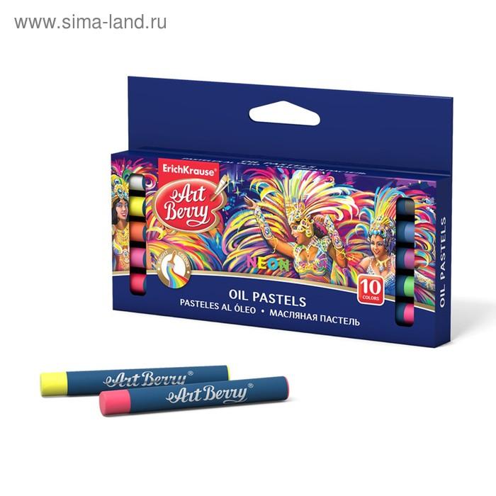 Пастель масляная 10 цветов Neon Creative Line, EK 39154