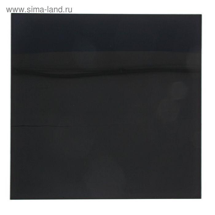 Доска магнитно-маркерная стеклянная 45*45 LUX, черный 070