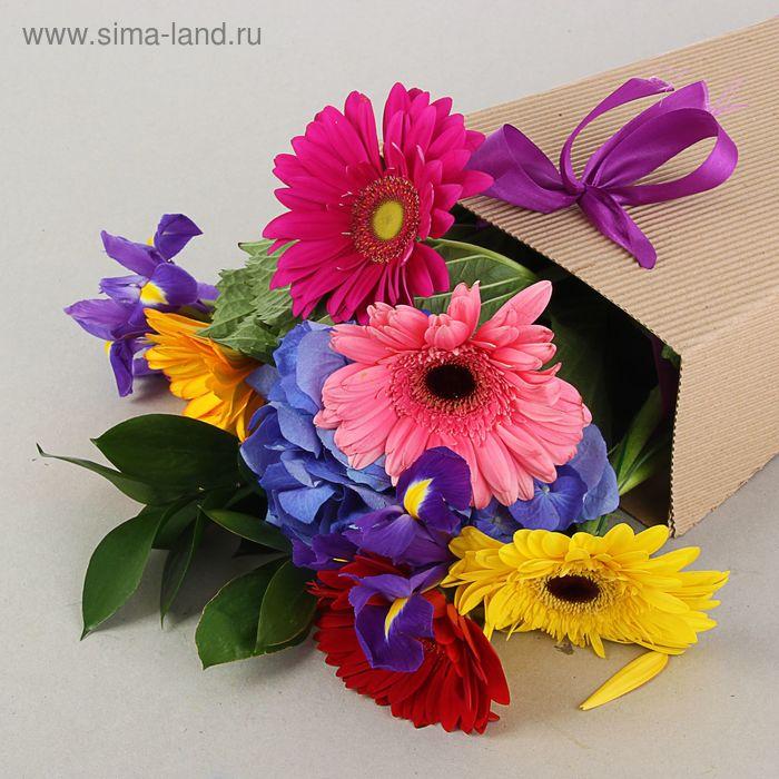 Сумка для цветов 20 х 10 х 35 см