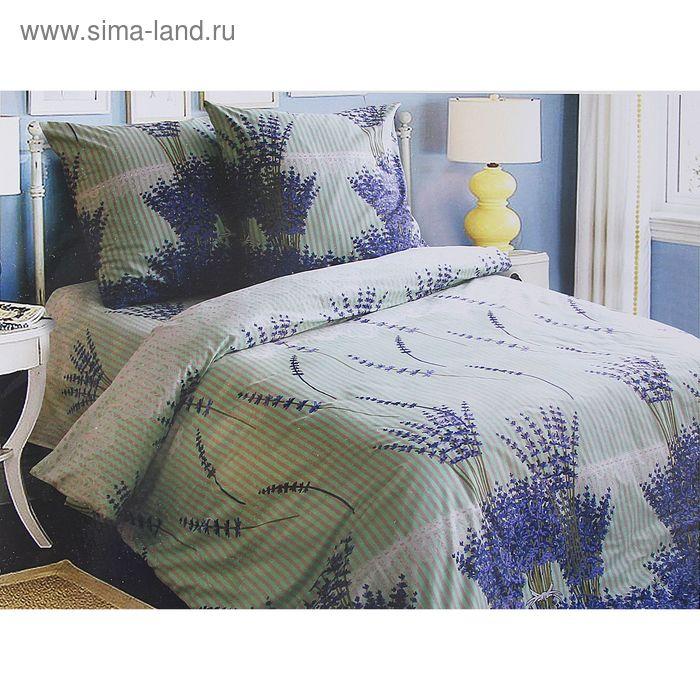 "Постельное бельё Блакит ""Лаванда"" дуэт, размер 215х153 см - 2 шт., 240х220 см, 50х70 см - 2 шт., 120 г/м2"