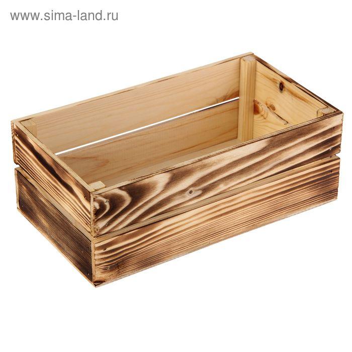 Ящик реечный № 1 экзотик, 24.5 х 13.5 х 9 см