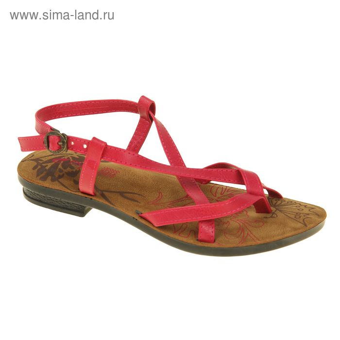 Туфли летние женские открытые, цвет розовый, размер 38 (арт. 143015-17 EW)