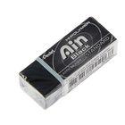 Ластик Pentel синтетика Hi-Polymer Ain Black 43.4*17.4*11.8, черный, высокоэффективный
