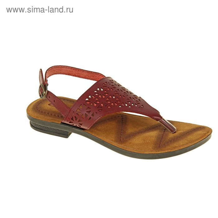Туфли летние женские открытые, цвет розовый, размер 38 (арт. 143005-12 EW)