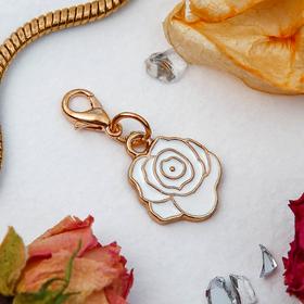 Шармик 'Роза', цвет белый в золоте Ош