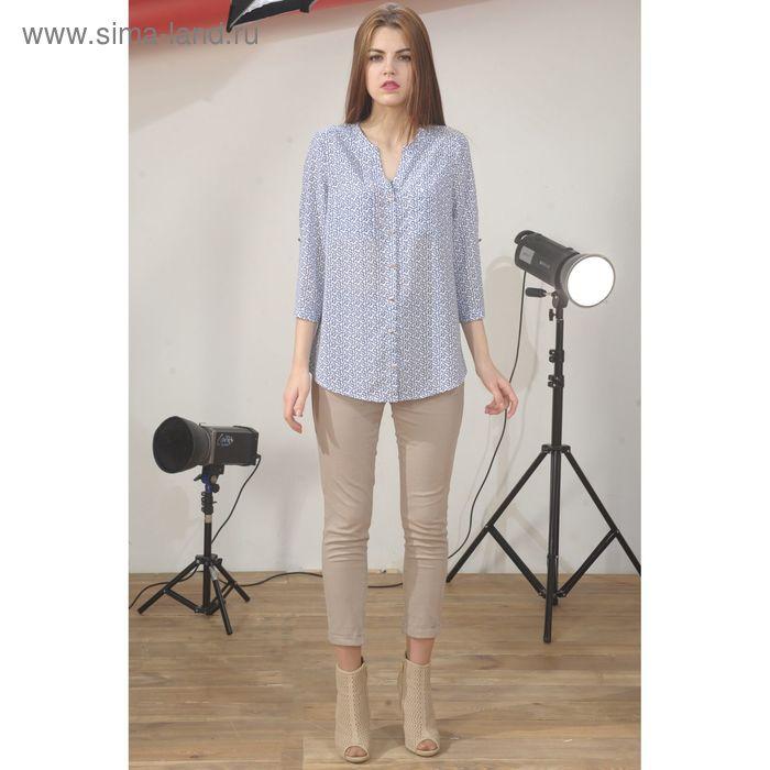 Блуза 4891б, размер 46, рост 164 см, цвет белый