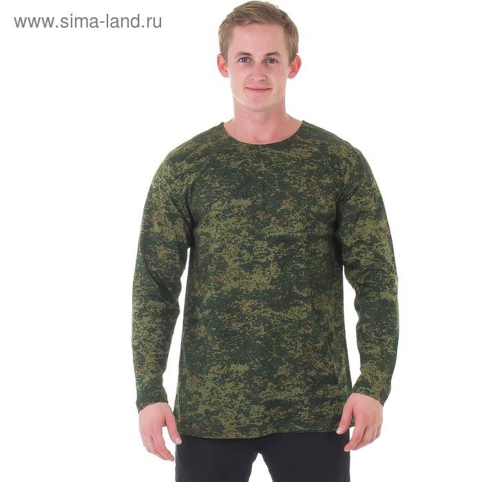 Джемпер мужской, цвет камуфляж зелёный, размер 50 (арт. 20518)