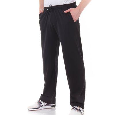 Брюки мужские, цвет чёрный, размер 50