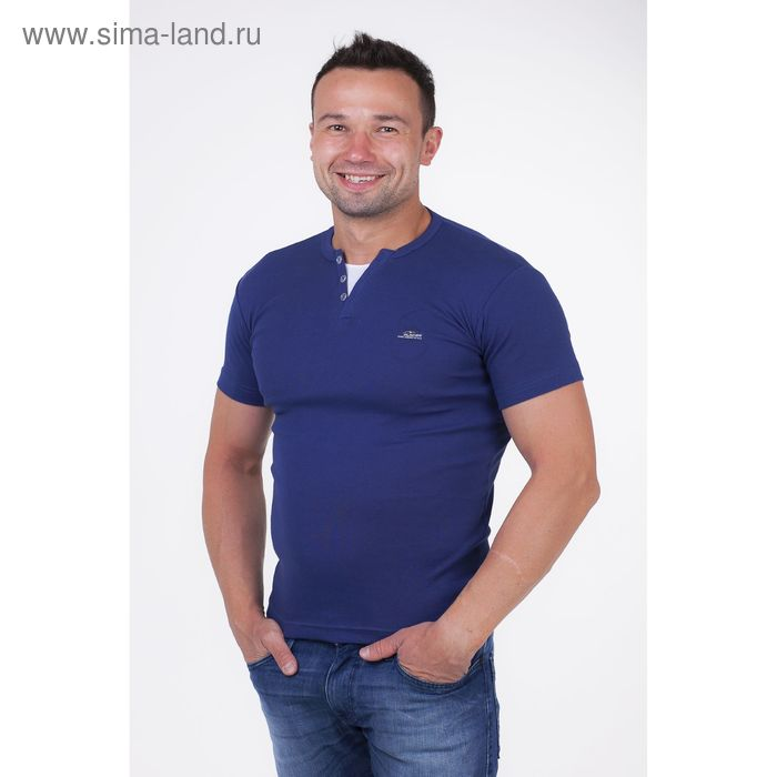 Футболка мужская арт.5078, цвет джинс, р-р M