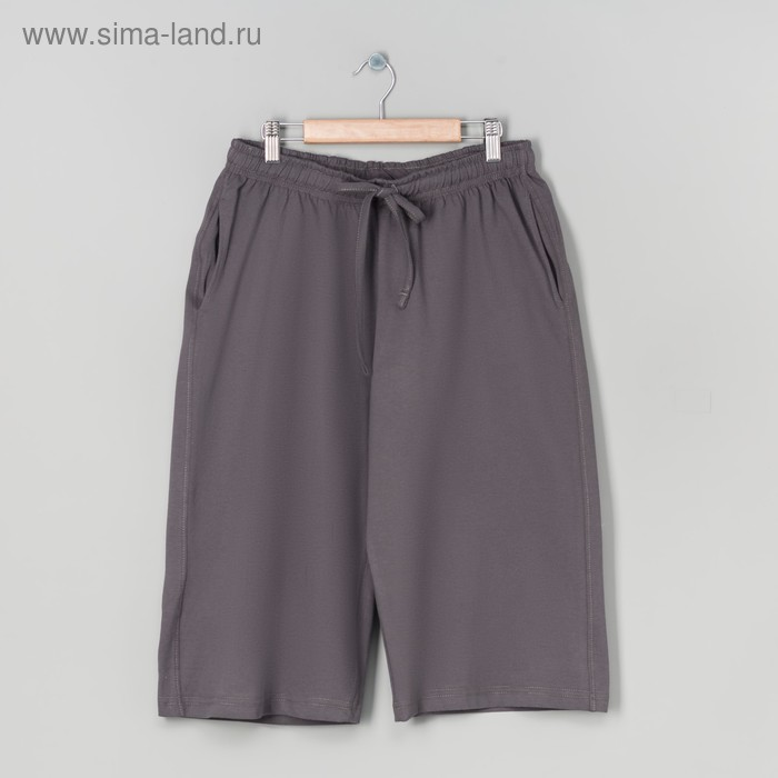 Шорты мужские, цвет серый, размер 56 (арт. 20316)