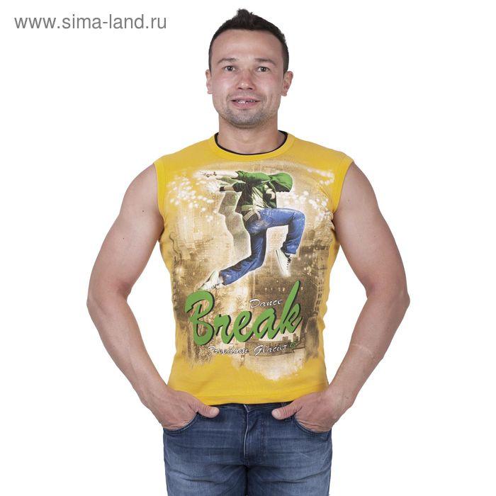 Майка мужская арт.0350, цвет жёлтый, р-р XL