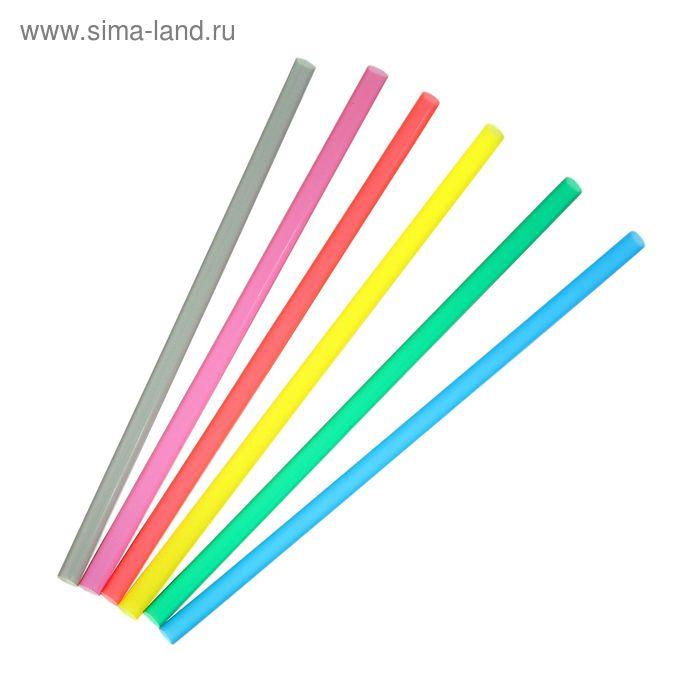 Набор трубочек для алкококтейлей 5х140 мм Mini, цветные, 400 шт в упаковке