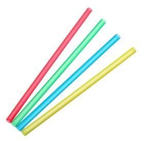 Набор трубочек для алкококтейлей 5х125 мм Mini, цветные, 100 шт в упаковке Ош