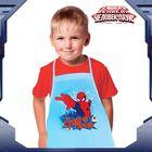 """Набор для мальчиков """"Супергерой"""", Человек-Паук, фартук+доп.элементы, текстиль, бумага"""