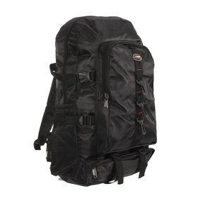"""Рюкзак туристический """"Джон"""", 2 отдела, 1 наружный и 2 боковых кармана, объём - 25л, чёрный"""