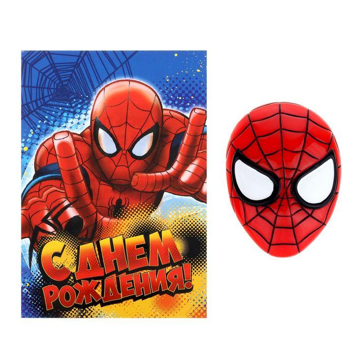 Открытки поздравления с днем рождения человек паук