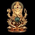 Сувенир «Ганеша», с кристаллами Сваровски