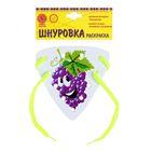 "Шнуровка-раскраска ""Виноград"""