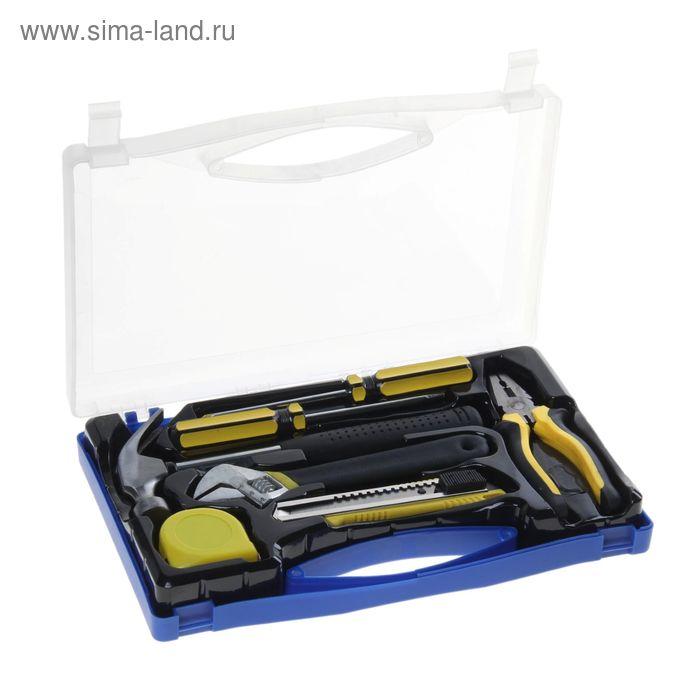 УЦЕНКА Набор инструмента TUNDRA basic, универсальный 7 предметов, кейс
