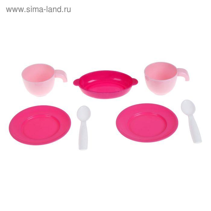Набор детской посуды на 2 персоны, 7 элементов