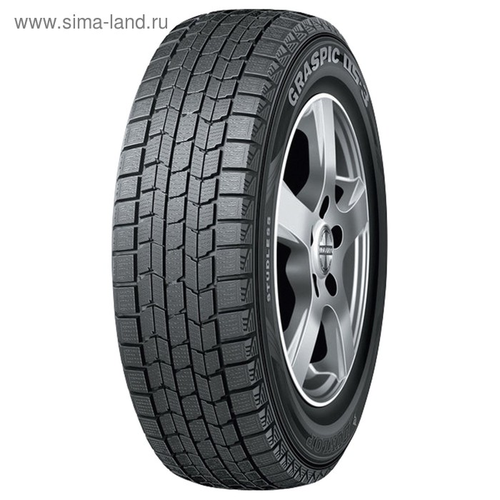 Зимняя нешипованная шина Dunlop Graspik DS3 205/55 R16 91Q
