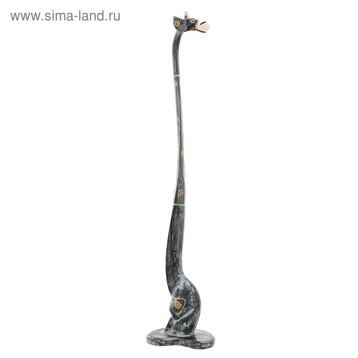 "Сувенир ""Жираф Уни"" серый, 80 см"