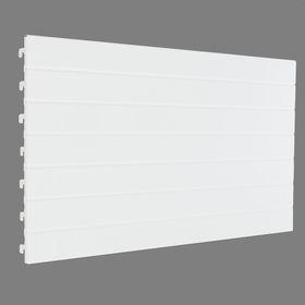 Стенка для стеллажа, евро, серия 25, 35*66,5см, цвет белый