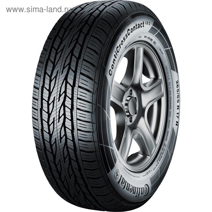 Летняя шина Continental ContiCrossContact LX 2 FR 255/60 R17 106H